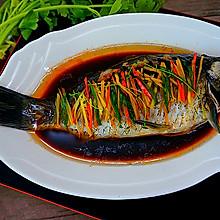 健康饮食----清蒸鲫鱼