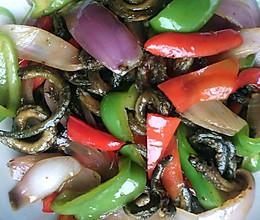 青椒洋葱炒黄鳝的做法