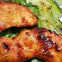 煎鸡胸肉~~不用烤箱的美味的做法图解9