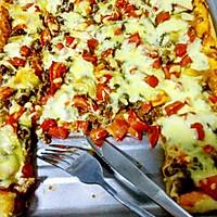 牛肉番茄披萨