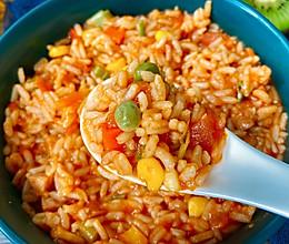 酸甜的番茄烩饭,好吃到舔盘‼️的做法