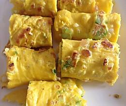 蔬菜鸡蛋饼的做法