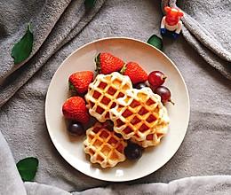 """#甜蜜暖冬,""""焙""""感幸福# 热乎乎的华夫饼的做法"""