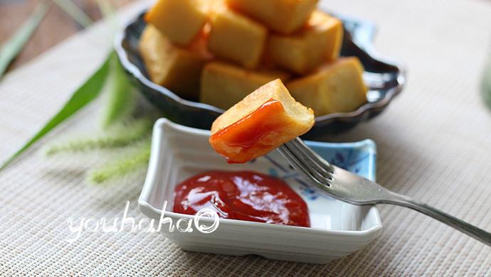 脆皮豌豆凉粉