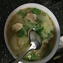 老黄瓜牛肉汤