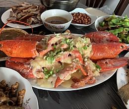 芝士烩龙虾的做法