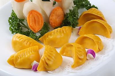 月牙饺子#金龙鱼专业饺子粉#