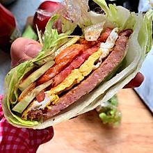超级好吃的生菜三明治
