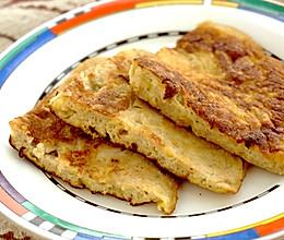 肉桂香蕉煎蛋饼的做法