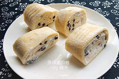 毛巾卷蛋糕#金龙鱼精英100%烘焙大赛颖涵战队#