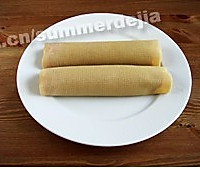 东北熏干豆腐肉卷的做法图解4