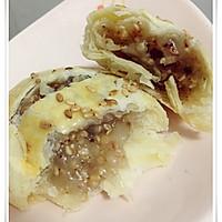 【多妈学烘焙】中式点心-老婆饼(糯米馅/豆沙馅)的做法图解28