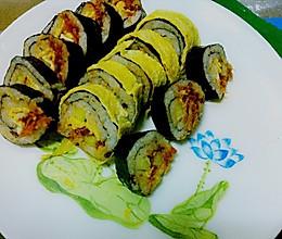 迷人又饱腹的--紫菜卷的做法