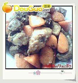 萝卜烧排骨的做法