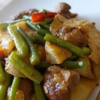 豆角炖花肉的做法图解7
