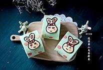 小兔彩绘蛋糕卷#有颜值的实力派#的做法