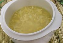 秋季玉米浆鸡蛋羹的做法