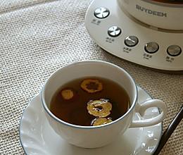 大麦山楂枣茶的做法