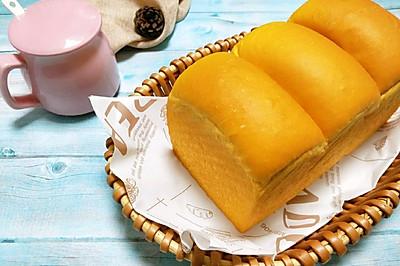 #精品菜谱挑战赛#南瓜吐司(消耗南瓜粉)