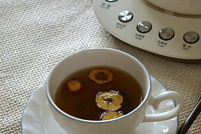 大麦山楂枣茶