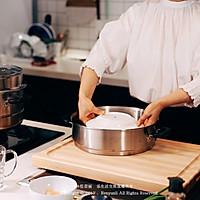 虾仁豆腐蒸水蛋的做法图解3
