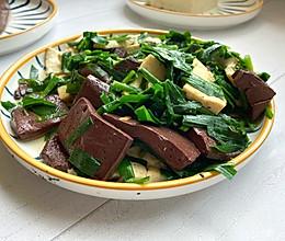 #我们约饭吧# #我要上首焦#简单快手猪血豆腐汤的做法