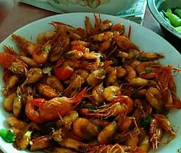 酱爆河虾的做法