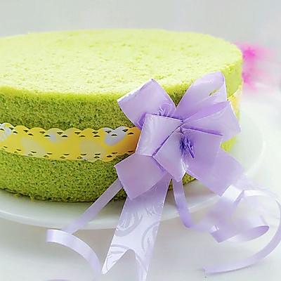 8寸菠菜戚风蛋糕