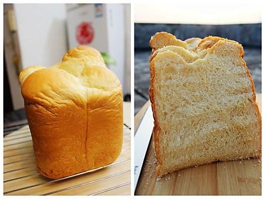 柏翠PE8990SUG面包机做吐司---酸奶吐司的做法