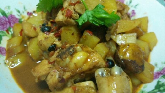 #大喜大牛肉粉试用#香锅鸡