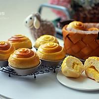 甜滑、松软的卡仕达面包,早餐新选择的做法图解24
