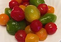 糖渍三色小番茄的做法