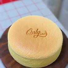 八寸原味古早蛋糕(烫面水浴法)