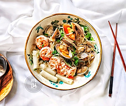 韩式海鲜面的做法