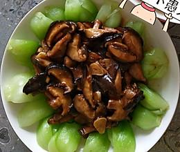 香菇上海青的做法