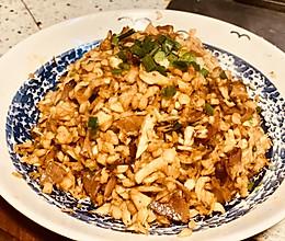 湖南风味萝卜干炒腊肉的做法