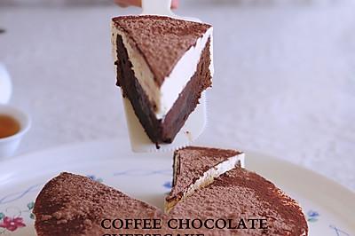 咖啡巧克力凝酪蛋糕