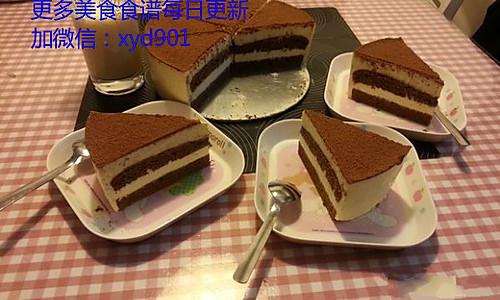 轻松几步做出美味提拉米苏(巧克力海绵蛋糕版)的做法