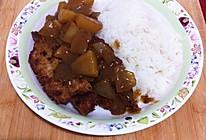 深夜食堂--咖喱猪排饭的做法