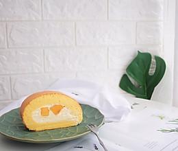 胖胖哒芝士奶油芒果卷的做法