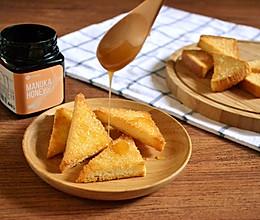 #北岛山谷蜂蜜#香脆蜂蜜烤面包的做法