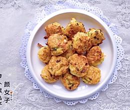 炸素萝卜丸子#麦子厨房美食锅#的做法