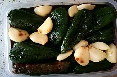 自制港椒咸菜
