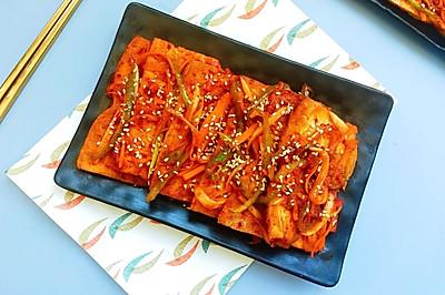 韩式酱汁烧豆腐