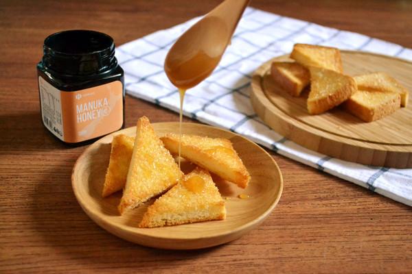香脆蜂蜜烤面包的做法