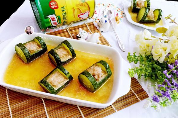 黄瓜酿肉#鲜有赞 爱有伴#的做法