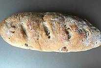 全麦葡萄干核桃仁面包的做法