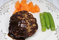 动漫料理还原-日式汉堡肉的做法