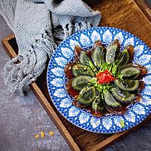 剁椒拌皮蛋#花10分钟,做一道菜!#