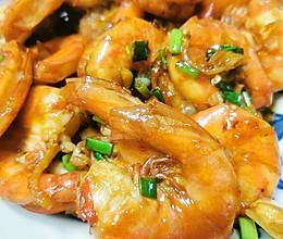 红烧大虾(冰冻海虾)的做法